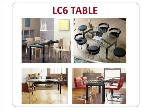 LC6 GLASS TABLE